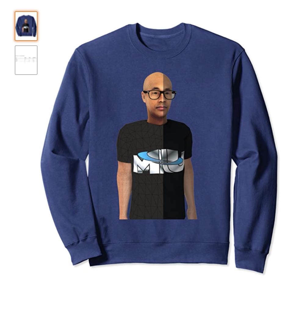 MERCemoji Tee - Metaverse Merc Sweatshirt