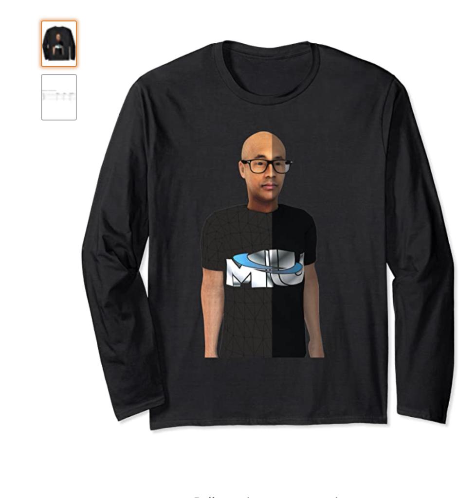 MERCemoji Tee - Metaverse Merc Long Sleeve T-Shirt