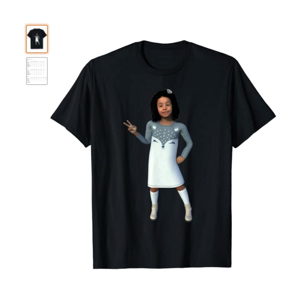 MERCemoji Tee - Princess Yana T-Shirt