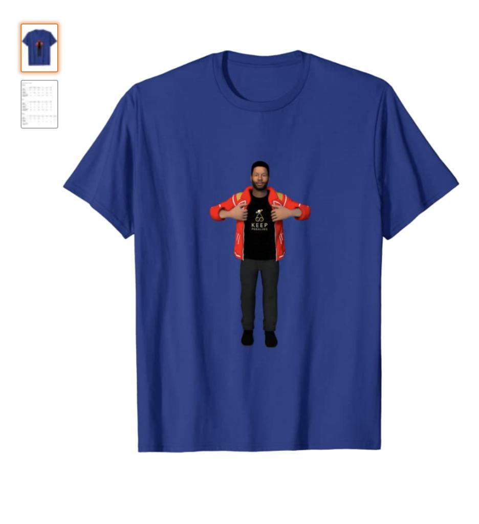 MERCemoji Tee - Karon Joseph Riley T-Shirt